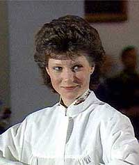 Märtha Louise fra konfirmasjonen i 1986. (Foto: NRK)