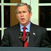 Bush bekreftet i dag selv bruddet på ABM-avtalen (Foto: EBU).