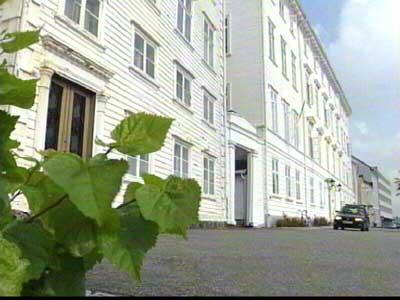 Her var nissen 13.desember: Arendal Rådhus