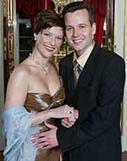 Slottet starter planleggingen av bryllupet til prinsesse Märtha Louise og forfatteren Ari Behn. (NRK-foto)