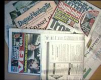 STREIK: Journalister i over 100 aviser er nå i streik.