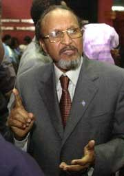 Somalias statsminister Hassan Abshir Farah leder en overgangsregjering med et mandat på tre år. (Foto: Scanpix/AP/Sayyid Azim)