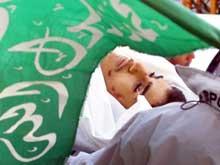 Zakaria Al Nawaja (15) ble skutt under sammenstøtene fredag. (Foto: Scanpix/AP/Alexander Zemlianichenko)