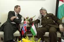 USA har ikke tillit til Yasir Arafat, mener Jan Petersen.
