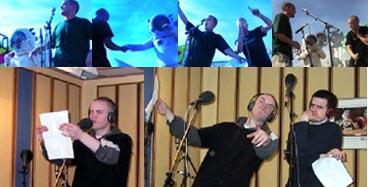Gatas Parlament hos NRK Petre. Over: Quart 01. Under: Studio 5.