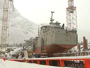 Båtbygg AS på Raudeberg bygde M/S