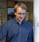 Ordfører i Løten, Martin Skramstad fikk frierbesøk.