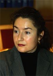 Veronica Orderud forklarer seg for Eidsivating lagmannsrett i dag.