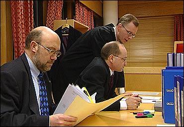 Aktoratet vil forsøke å prove at Kvalheim har svindla for 333 millionar kroner. Foto Randi Indrebø © NRK
