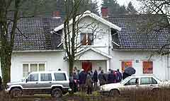 Per Kristian Orderud sier at han og faren skrev kontrakt i våningshuset 2.juli 1996. (Foto: Scanpix)
