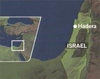 Det var i byen Hadera, nord i Israel at en palestiner stormet inn og skjøt vilt rundt seg på en konfirmasjonsfeiring i går.
