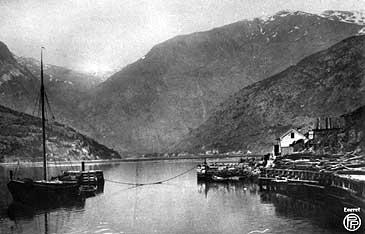 Habben på 1880-talet. (Foto © Fylkesarkivet)