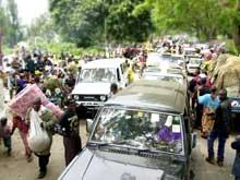 Flere hundre tusen mennesker er på flukt etter vulkanutbruddet. (Foto: Scanpix/AP/Sayid Azim)