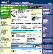 MSN sine nettsider er Storbritannias mest besøkte.