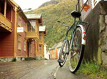 Gamle Lærdal. (Foto: NRK)
