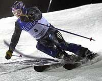Kjetil André Aamodt hadde beste tid i 2. omgang i tirsdagens storslalåm i Adelboden.(Foto: Scanpix/Tor Richardsen)