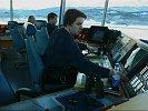 FÆRRE: Det kan bli færre folk i kontrolltårnet på Bardufoss flyplass. Arkivfoto.
