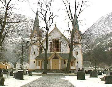 Hauge kyrkje. (Foto: NRK)