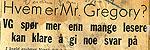 Fra VG 1952.