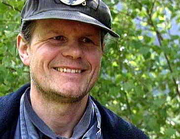 Jens Hauge. (Foto: Arild Nybø, NRK)
