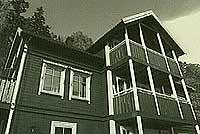 Huset i Almedalsvn.9 som ble solgt til familien Ulseth.