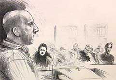 En amper Lars Grønnerød hevdet i retten i dag at ble gjort kjent med drapene via tekst-tv.