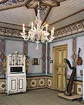 Avledningsmanøver: Brudeparet hadde et kort opphold på praktfulle Ringve, som huser det nasjonale musikkhistoriske museet.