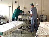 Det russiske portforbudet kan føre til at sykehussengene blir stående tomme. (Foto: TF1)