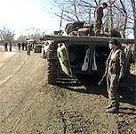 Store styrker fra Russland er tilstede. (Foto: TF1)