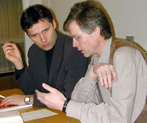Jens Stoltenberg og Reidar Åsgård.