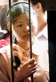 En amerikansk valgobservatør er misfornøyd med gjennomføringen av lokalvalget i Kambodsja. (Scanpix-foto)