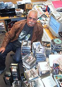 - Notodden er en institusjon internasjonalt, sier bluessjef i NRK, Geir Hovig. Foto: NRK.
