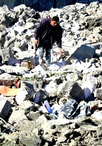 Voldshandlingene i Midtøsten skaper dype sår på begge sider. (Foto: Nasser Nasser - AP)