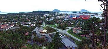 Florø. (Foto: NRK)