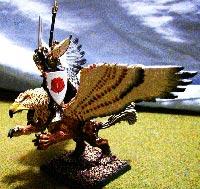 Eksempel på en håndmalt warhammerfigur.