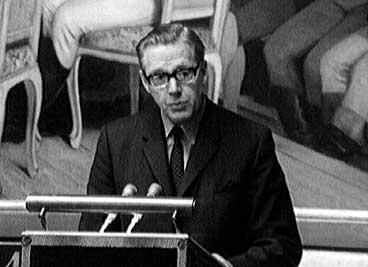 John A. Austrheim på Stortinget. (Foto: NRK)