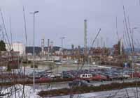 Norsk Hydro på Rafnes.