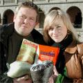 Lars Barmen og Elin Ruhlin Gjuvsland