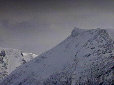 Vora i vinterdrakt. (Foto: Torje Bjellaas, NRK)