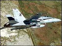 Amerikanske jagerfly patruljerer allerede daglig i luftrommet over Irak.