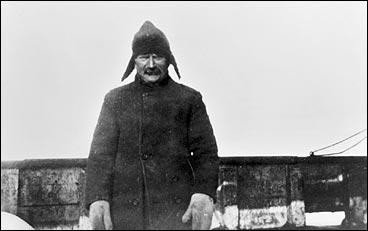 Lyder Strømmen i Kvitesjøen i 1915. (Foto © Fylkesarkivet)