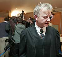 Statsadvokat Jørn Maurud hadde ingenting å utsette på juryens kjennelse i Orderud-saken. (Foto: Scanpix/Jon Eeg)