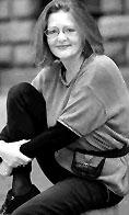 Dramatiker Cecilie Løveid.