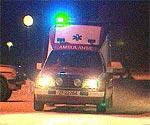Bilføreren la seg foran ambulansen og hidret farten.