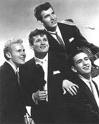 The Hawks - slik så de ut i 1958.