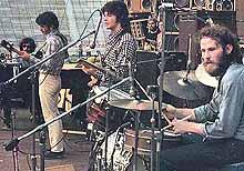 The Band på scenen i 1973.