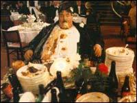 """Mr. Creosot sekundet før han eksploderer av overspising (fra """"The Meaning of Life"""")"""