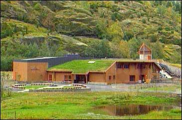 Norsk villakssenter i Lærdal. Arkivfoto NRK
