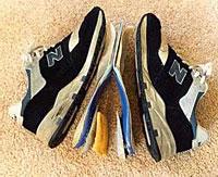 Sko - mye mer enn noe du i full fart putter på føttene!