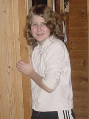 Lise Ebbesen 17 år fra Brønnøysund